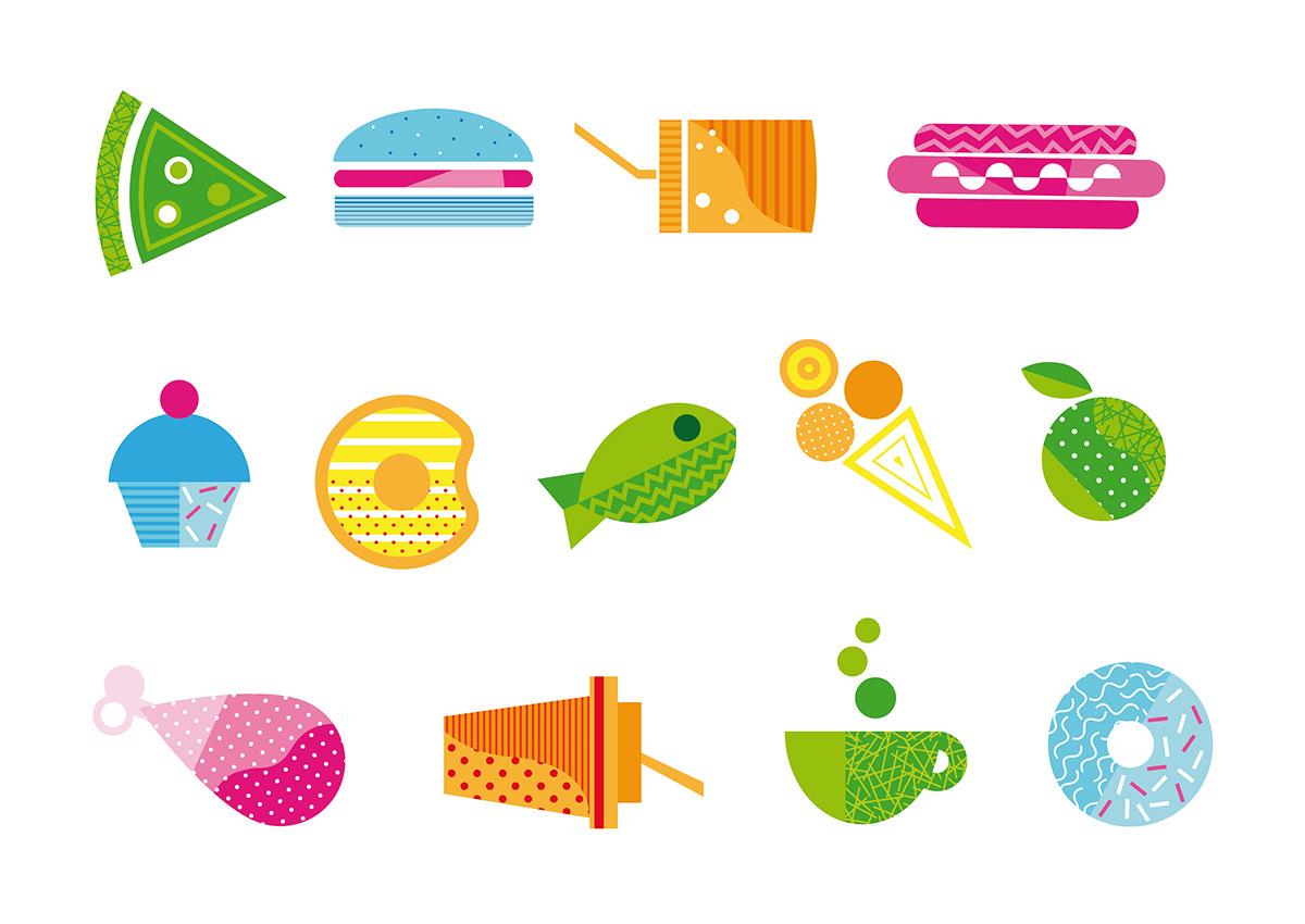 Ticket-Restaurant icons